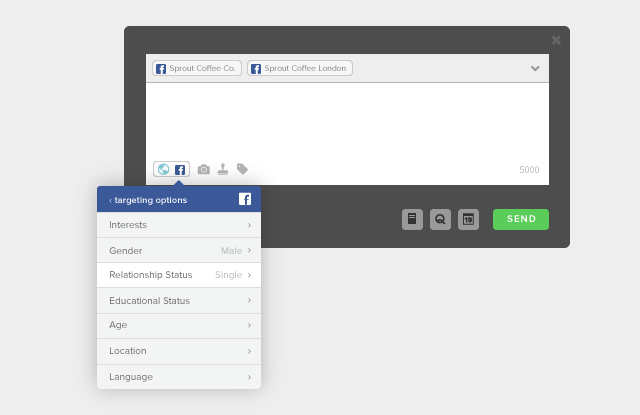 Facebook Audience Targeting options