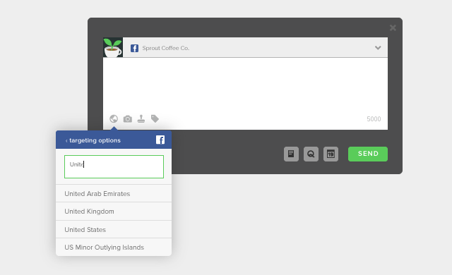 Refine Facebook Targeting Options in Sprout Social