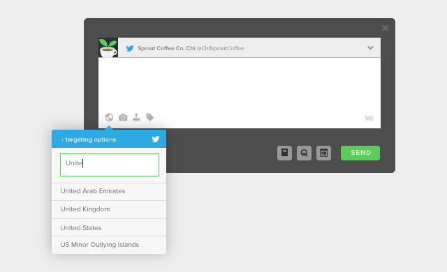 Twitter Targeting Options in Sprout Social