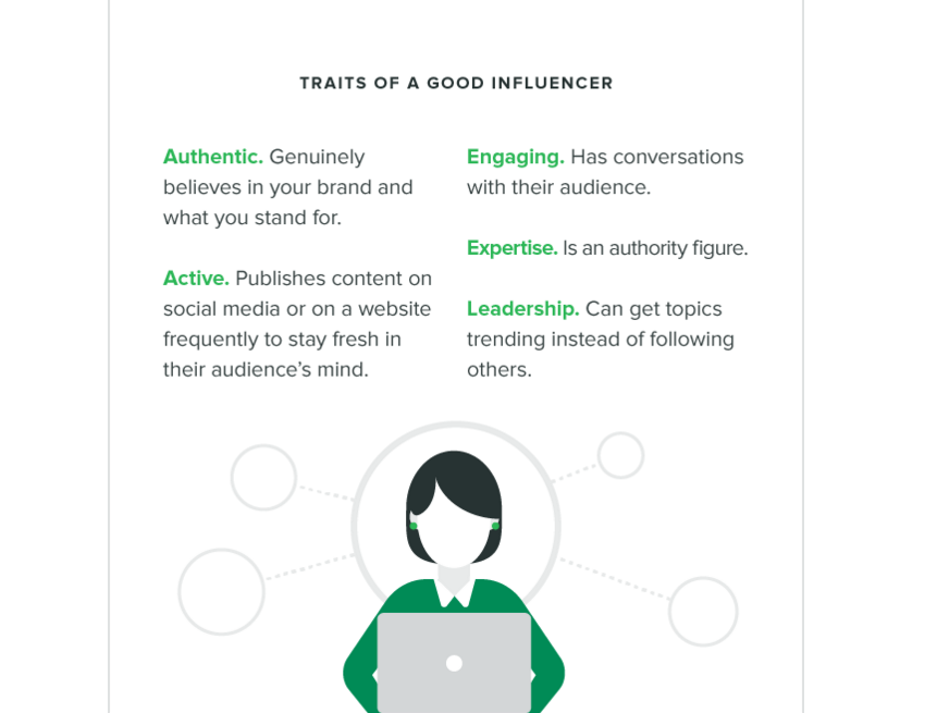 sprout social influencer marketing example
