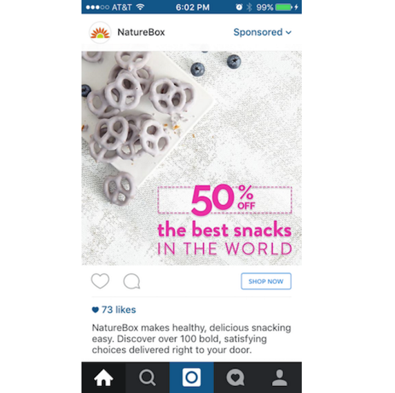 photo ads on instagram example