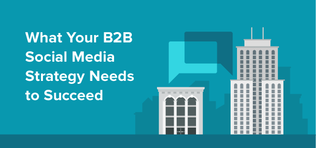 b2b social media feature image