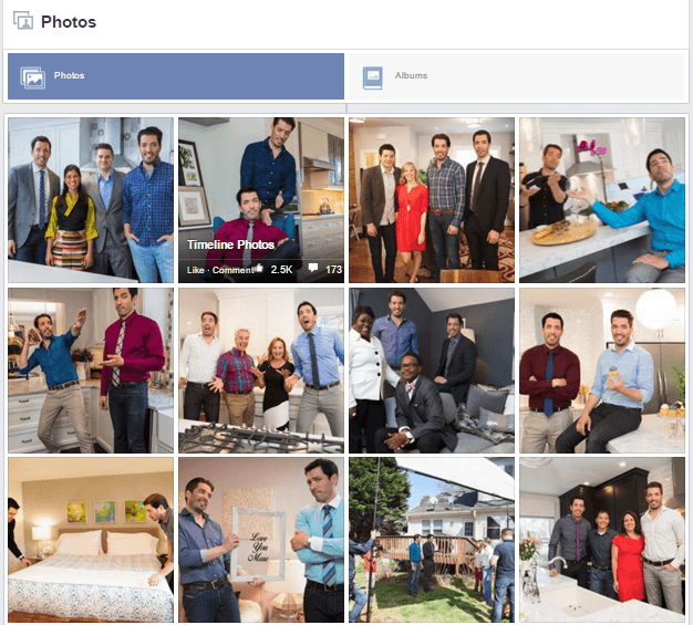Facebook Photo Engagement