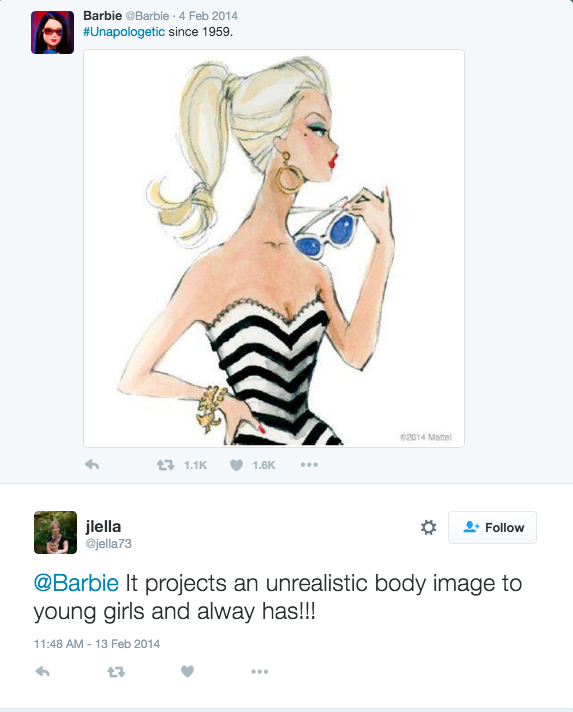 Barbie on Twitter