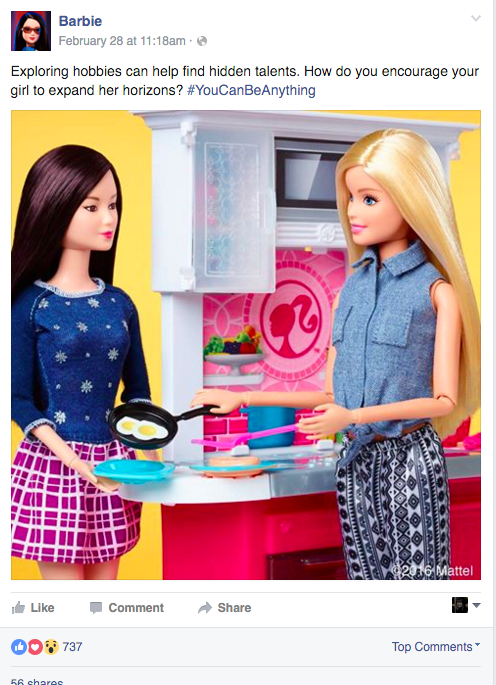Barbie Facebook
