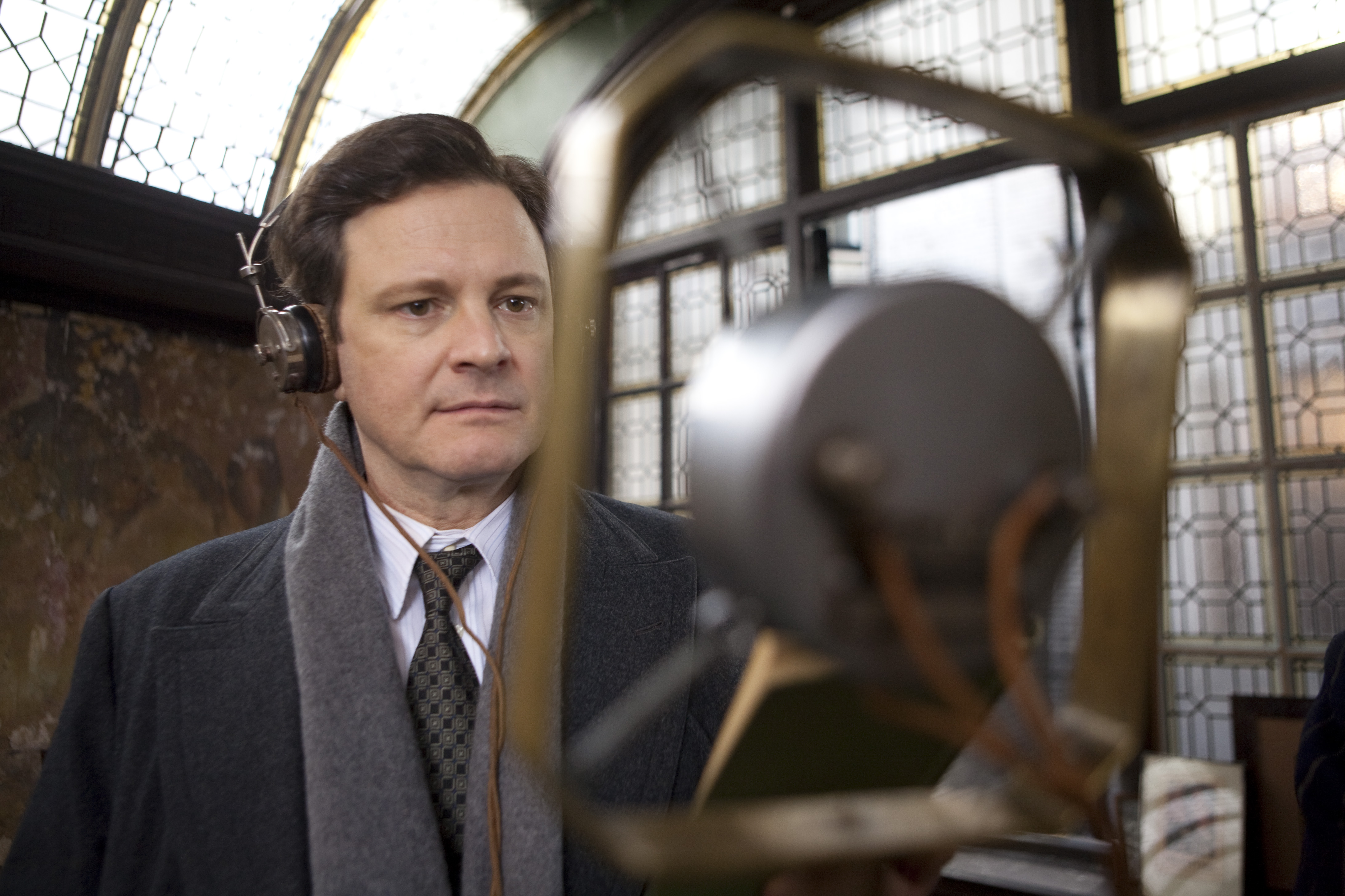COLIN FIRTH as Bertie (King George VI) in THE KING'S SPEECH. In cinemas Jan 7 2011