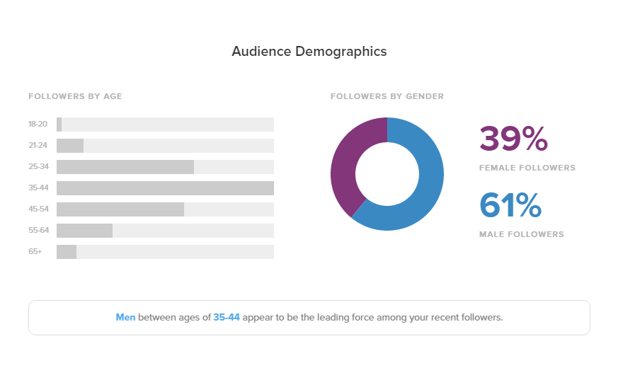 Twitter Audience Report