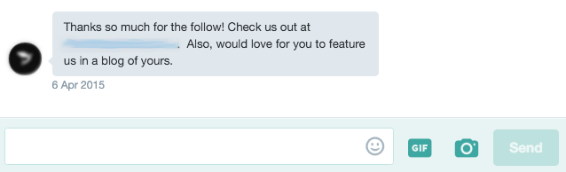 Twitter DM influencer outreach