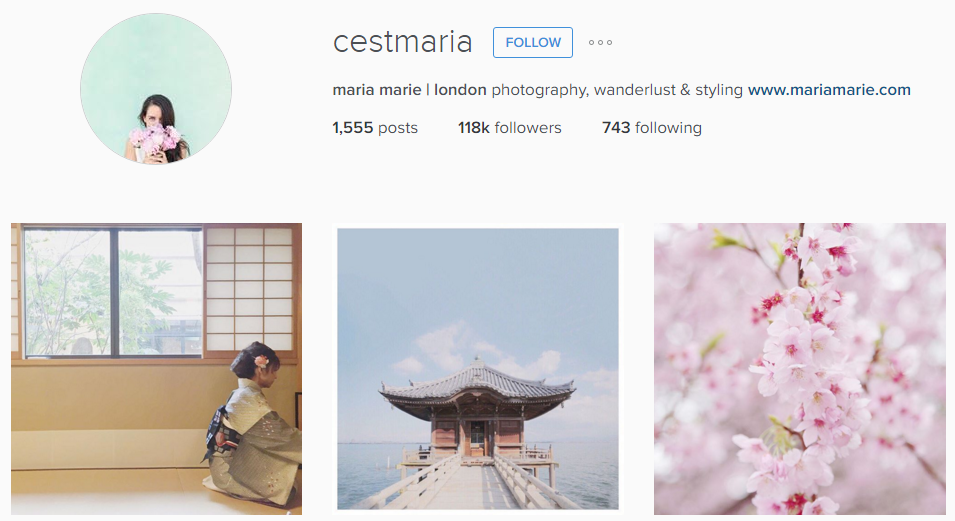 cestmaria Instagram
