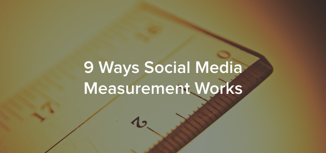 social media measurement header image