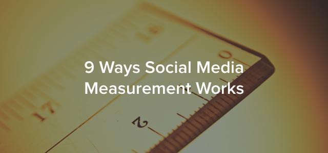 social media measurement header image
