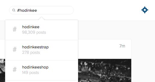 Hodinkee instagram search