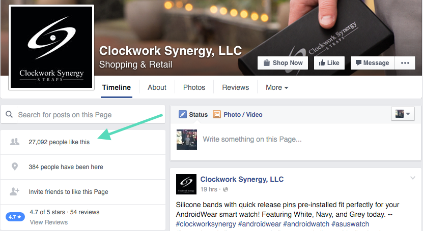 clockwork synergy facebook example