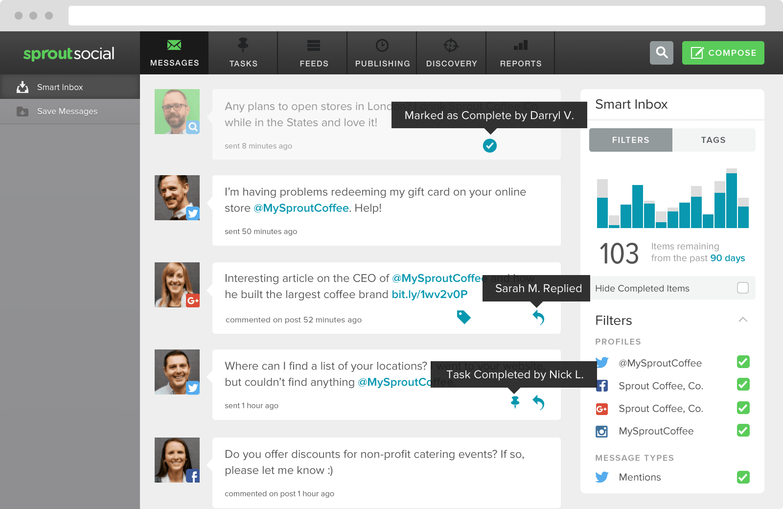 social media collaboration example