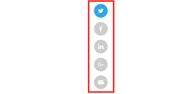sprout social media share buttons