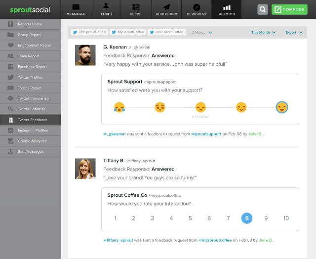 twitter-feedback-report