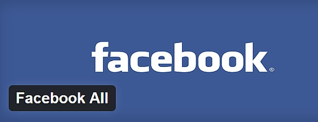 Facebook All WordPress Plugin