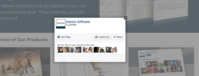 Facebook Page Promoter Lightbox WordPress plugin
