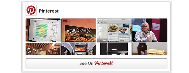 Pinterest Widgets WordPress Plugin