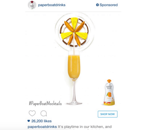 paperboat mocktails example