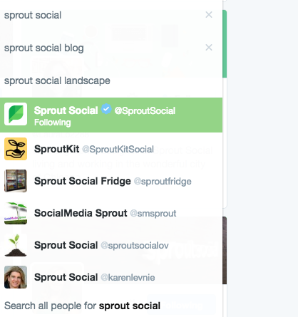 multiple sprout names
