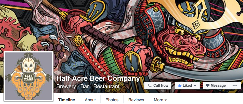 half acre facebook example
