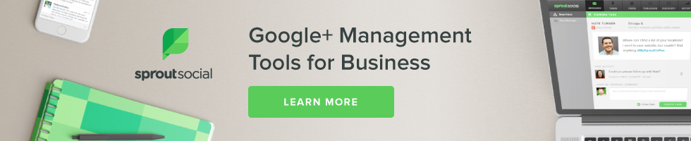Google+ Management Tools for Business