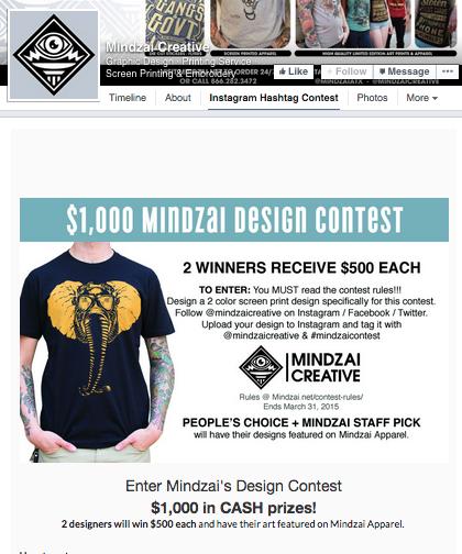 Mindzai Creative Instagram Contest