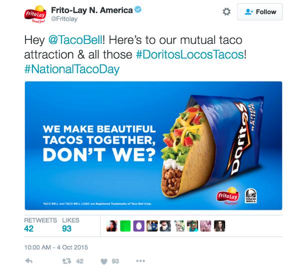 taco bell co-marketing