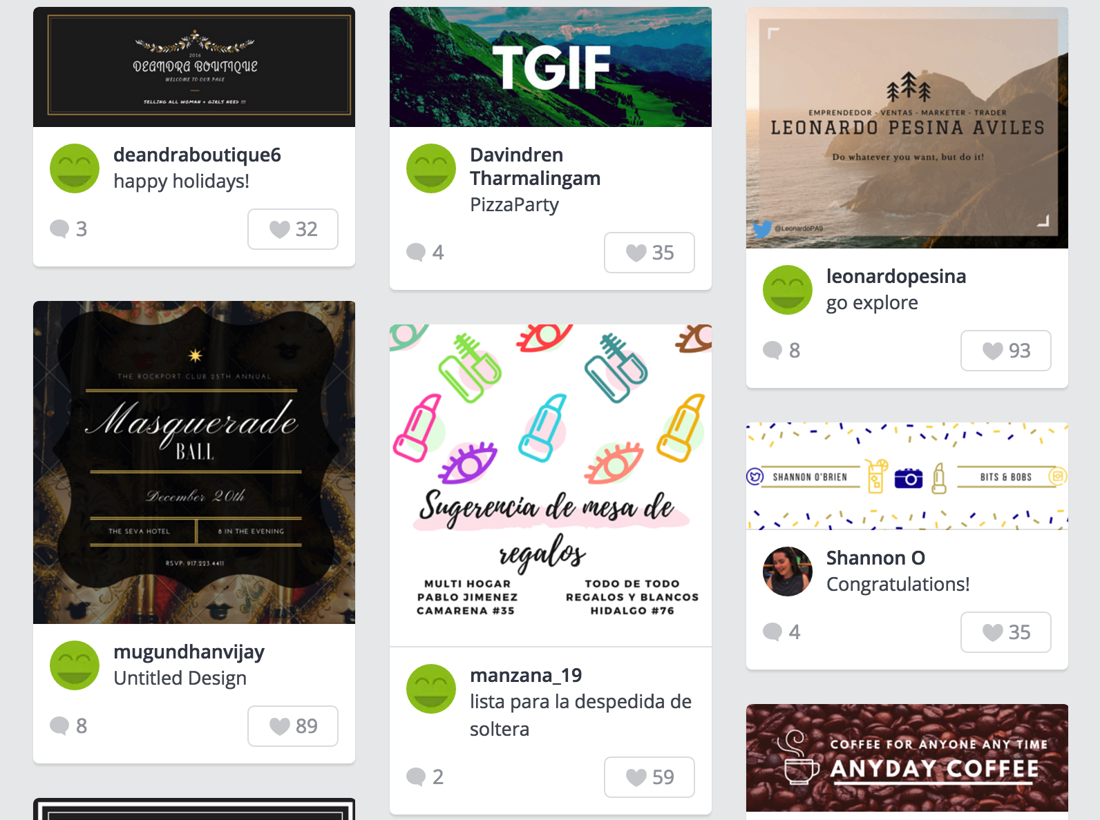 canva design inspiration