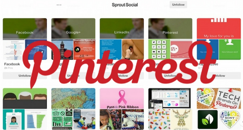 Sprout Social Pinterest