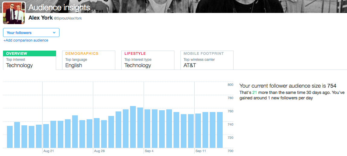 twitter audience data example