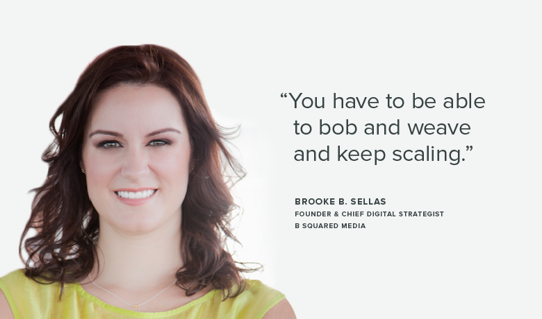 Brooke B. Sellas From B Squared Media on Starting a Social Media Agency