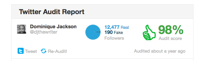 twitter follower audit