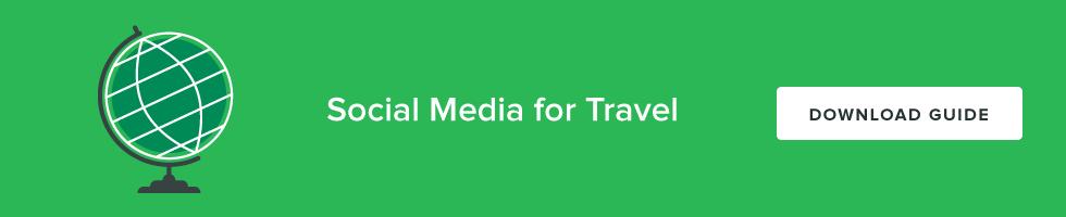 social media for travel cta