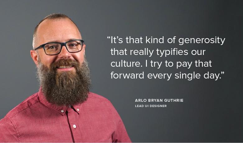 Meet Team Sprout: Arlo, Lead UI Designer