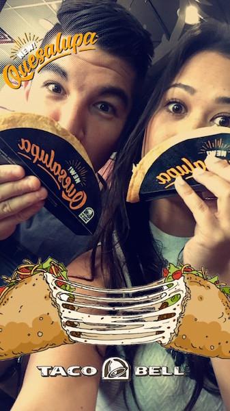 geofiltro de taco bell