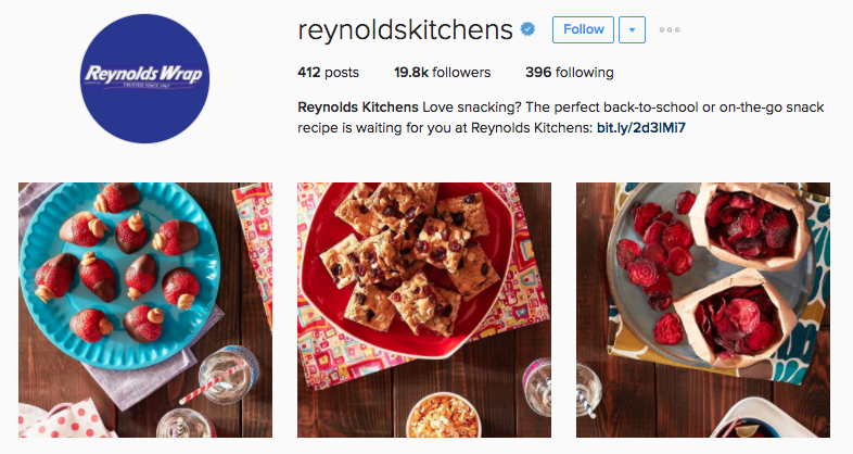 reynolds kitchens instagram profile
