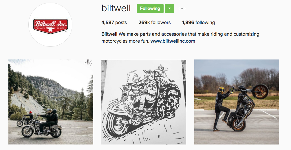 bitwell instagram profile