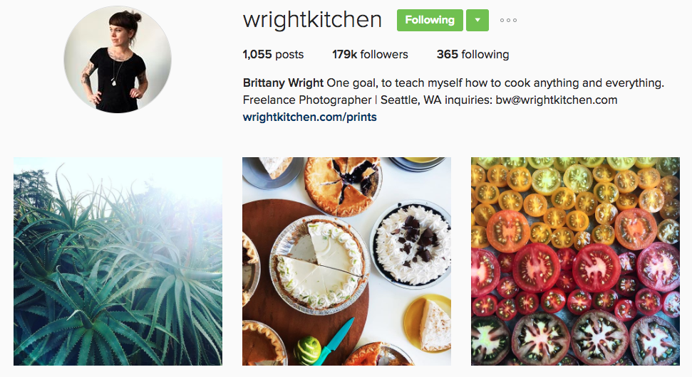 wright kitchen instagram profile