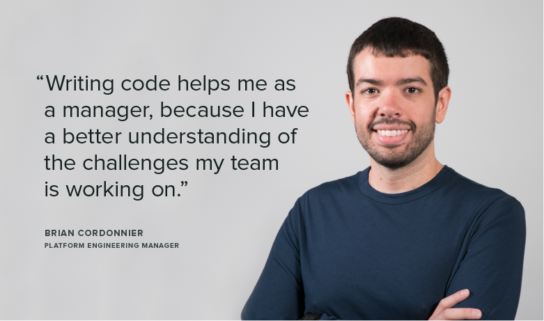 Meet Team Sprout: Brian, Platform Engineering Manager