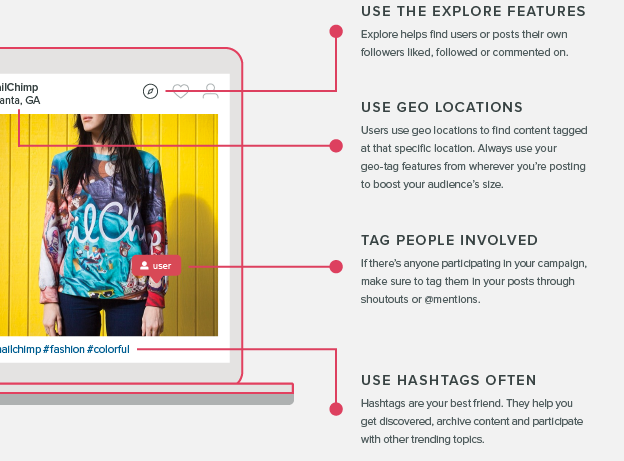 instagram best practices- get discovered section