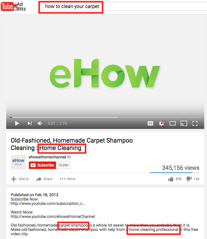 optimized youtube example  9 Tips on How to Get More Subscribers: A YouTube Guide optimized youtube example