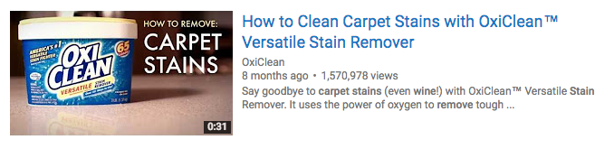 oxiclean youtube thumbnail example