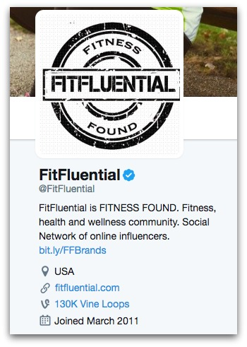 FitFluential Twitter Bio  8 Twitter Bio Ideas to Attract More Followers FitFluential Twitter Bio