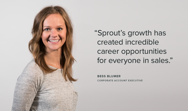 Meet Team Sprout: Bess, Corporate Account Executive