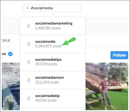 Numéro de poste instagram