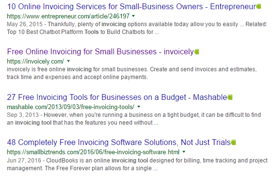 invoicing tool google search