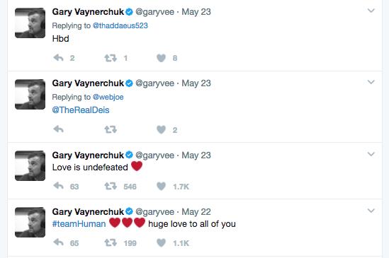 Gary Vaynerchuk Tweets