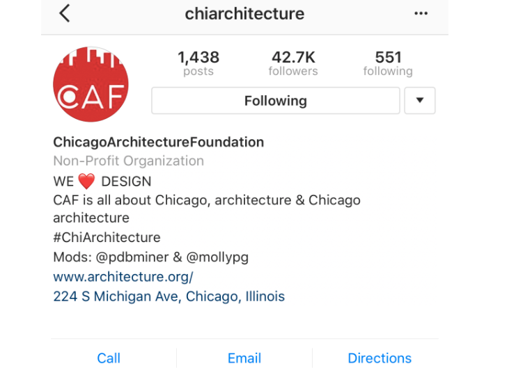 chicago architecture foundation